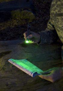 15 cm Chemlight in Grün zum Kartenlesen