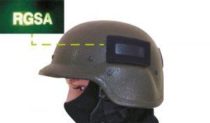 Wiedervendbarer IR Signalpatch für Helme
