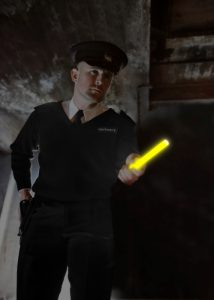 Zonenpatrouille durch die Polizei