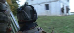 Patch zur Identifizierung am Helm