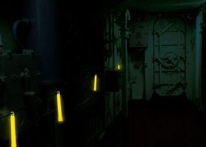 Beleuchtung für Wartungsarbeiten an Frachtschiffen