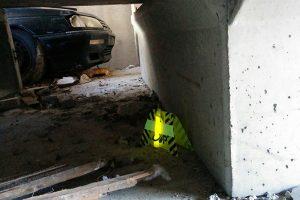 Markierung von Gebäuden während Rettungseinsätzen