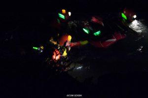 Kennzeichnung von Rettungskräften bei Unterwasserrettungseinsätzen