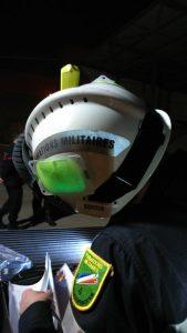 Lichtmarkerierung der Feuerwehrhelme