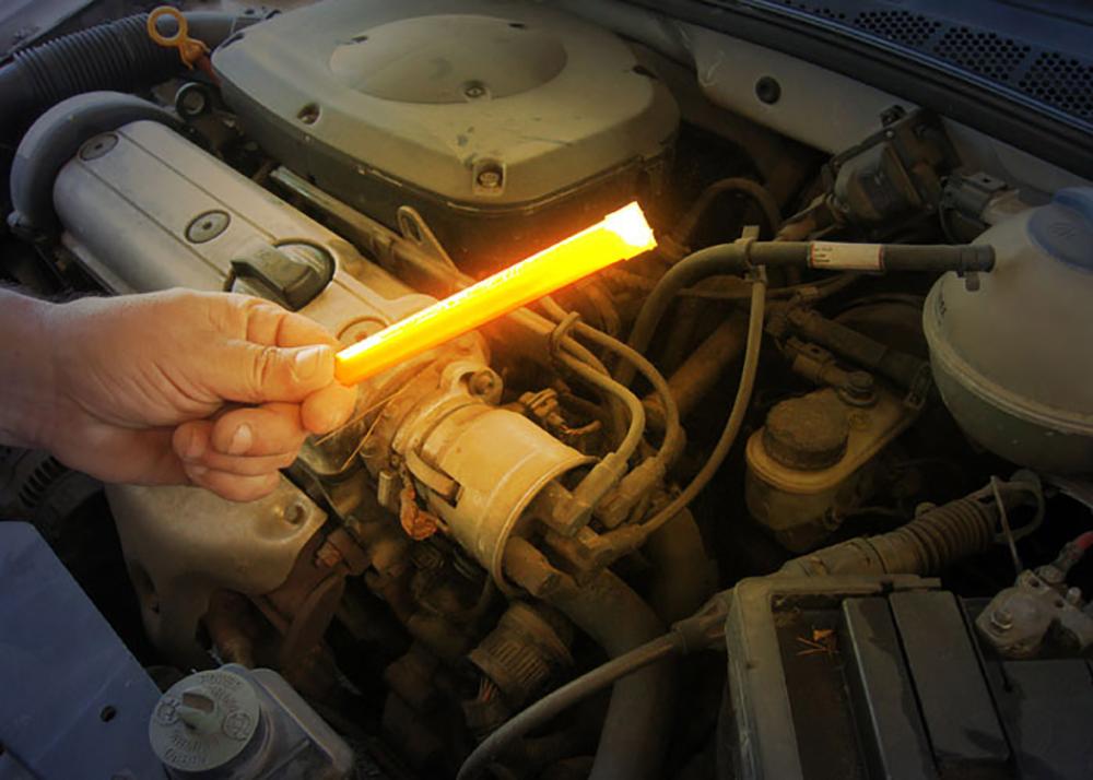 15cm Leuchtstab zur Überprüfung des Motors bei einer Panne