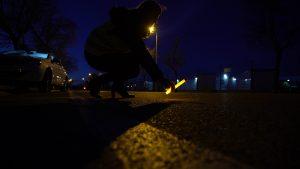 Leuchtstab für Sicherheit rund ums Auto