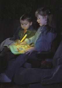 Beleuchtung zur Beruhigung von Kindern