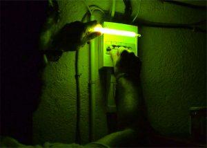 Unabhängige Lichtquelle ohne Batterien bei Stromausfall