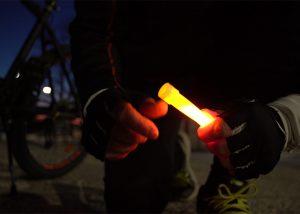 Beleuchtung und Leuchtmarkierung für Outdoor-Aktivitäten
