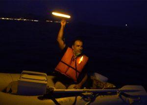 Notlicht Schiffbruch Notsignal