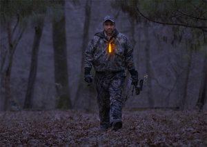 Leuchtmarkierung zur Ortung auf Jagdreisen