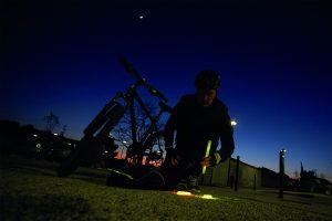 Kennzeichnung des Fahrrads bei Nacht