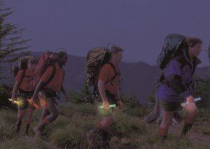 Ortung bei Nachtwanderungen