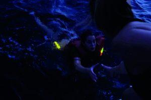 Leuchtmarkierung zur Ortung bei Seenot