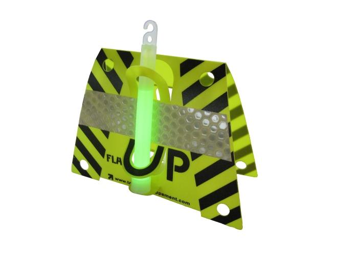 Aufblitzen fluoreszierende Unterstützung Flash Up