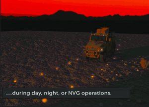 sichere Konvois über Nacht nach Minenräumaktionen der Strecken