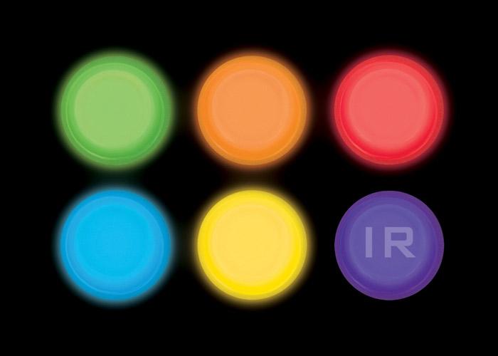 Runde LightShape Marker für Rzorback System