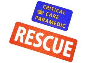 Reflektierende Patch Rescue
