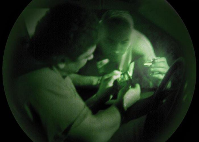 ChemLight Mini Cyalume infrarot Leuchtstab diskrete Markierung
