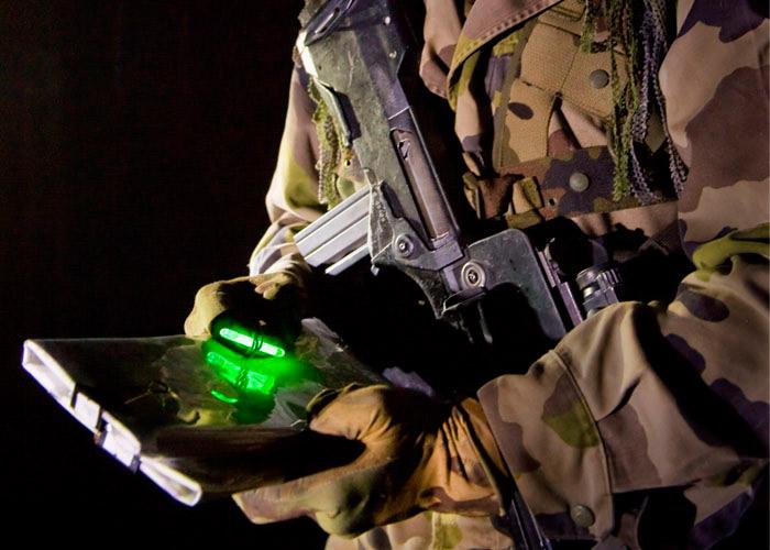 Mini Cyalume Leuchtstab Kartenlesen von Militärs