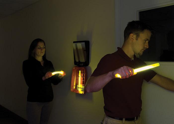 Leuchtstäbe Aktivierung mit LightStation Modell 20