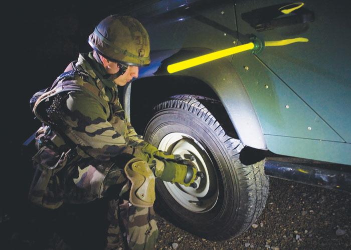Magnetbasis-Modell für das Militär militärischer Gebrauch