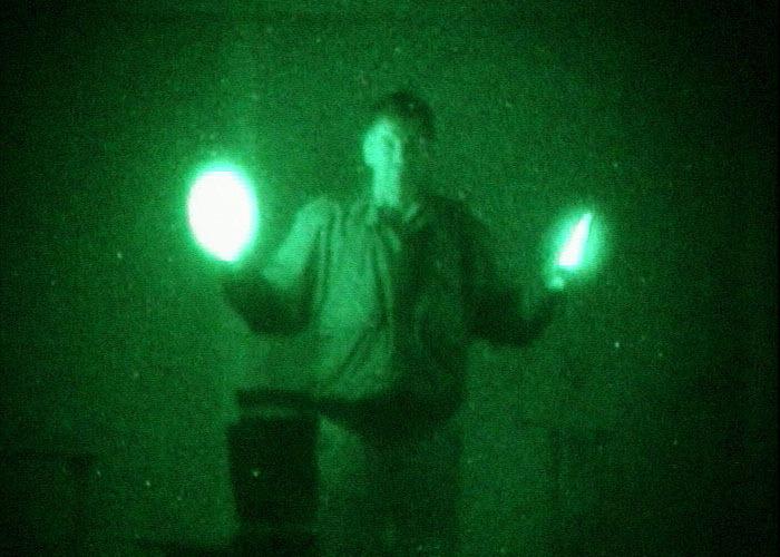 10cm infrarot Leuchtstab für nächtliche Luftoperationen