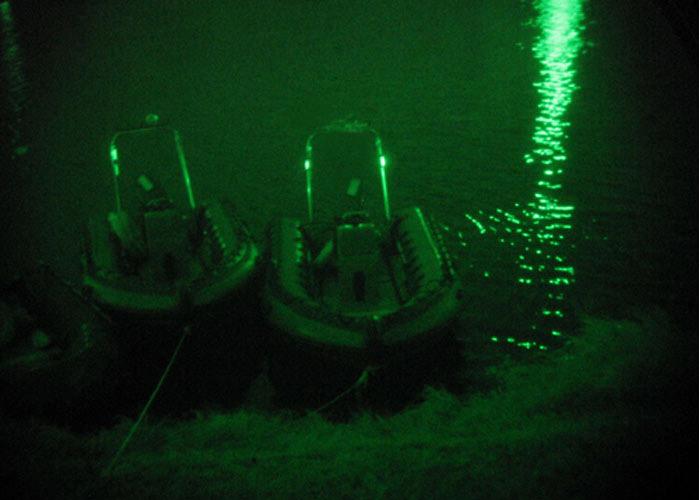 Infrarot Leuchtstab für Polizeikräften