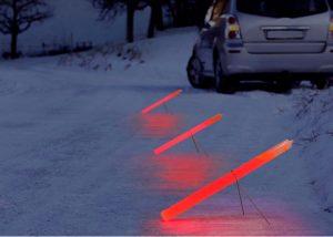 Leuchtstab für Beleuchtung von Unfallstellen