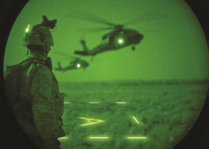 Infrarote Non-Impact Cyalume 40cm Leuchtstab für Hubschrauberlandeplatz
