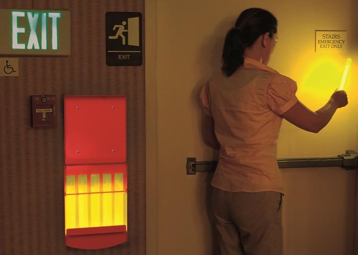 Knicklicht Lightstation Evakuierungsboxen