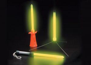 chemlight 25cm militarische Leuchtstäbe mit Zubehör