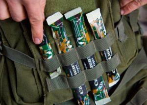 chemlight 10cm Leuchtstab für Kampfoperationen