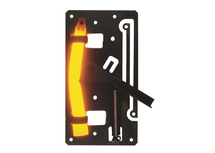 Lichtdetektor-Drahtfalle mit ultrahellen orangen Leuchtstab