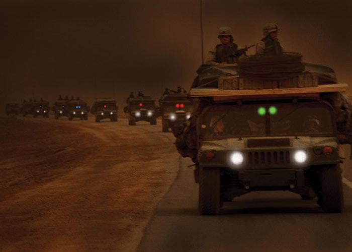 Markierung von Fahrzeugen mit Lightshape Lichtkreis