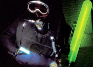 Rettungsaktionen auf See Identifizierung auf Schwimmweste
