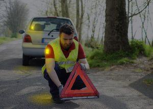 Visipad Leuchtaufkleber Autopanen Markierung von Personen