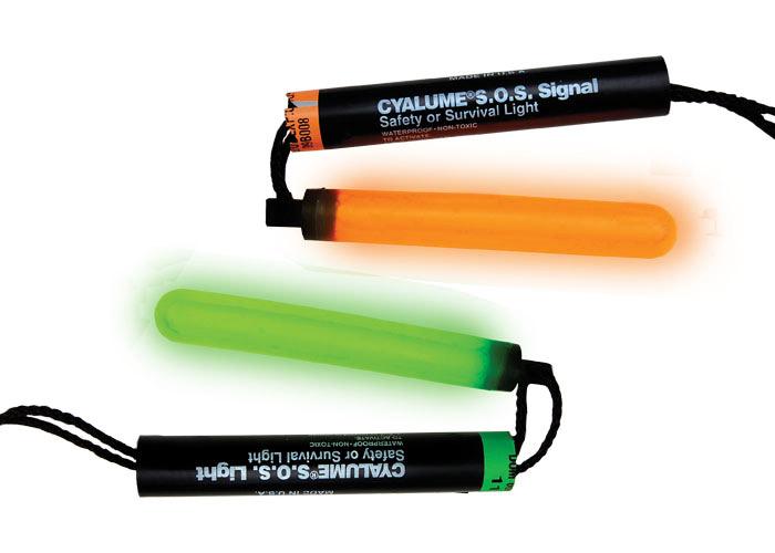Lichtnotsignal SOS Cyalume