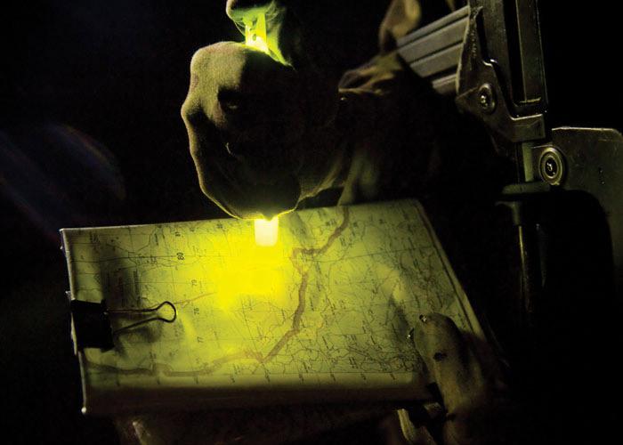 Cyalume Leuchtstab Taktische Beleuchtung für Kriegsschauplätze