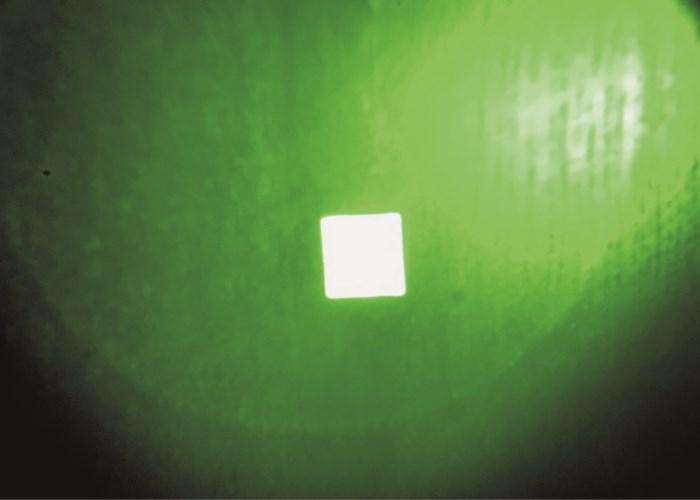 IFF quadratische Infrarot-Aufnäher Klettband