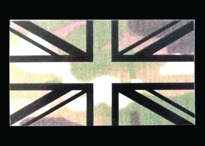 infrarote Flagge Camouflage Version