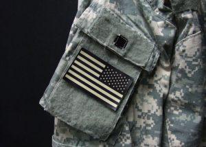 IR Flagge für Identifikation Freund/Feind