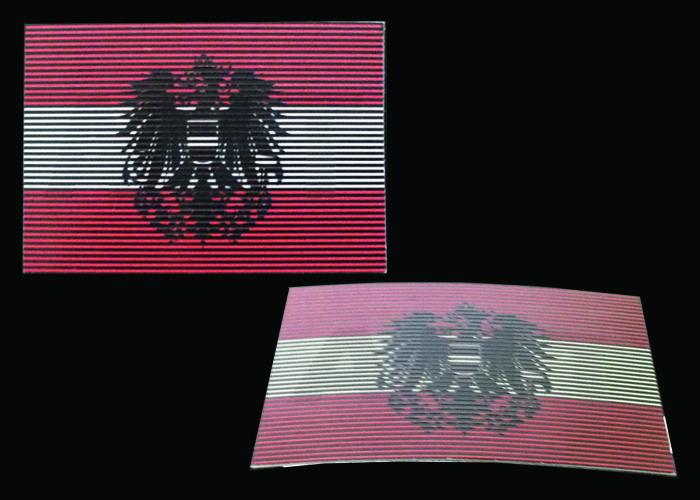 österreichisch Dual-IR Flagge visuellen und Infrarot Modi