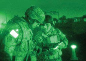 infrarote reflektierende Flagge Unterscheidung zwischen Freund und Feind IFF
