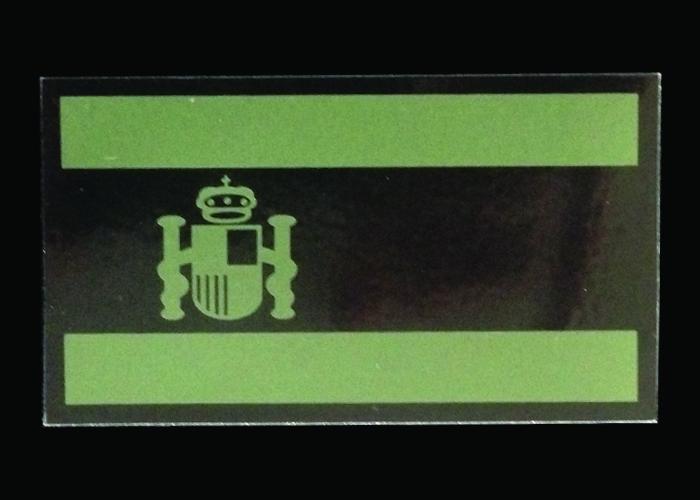 infrarote Flagge Olivgrün