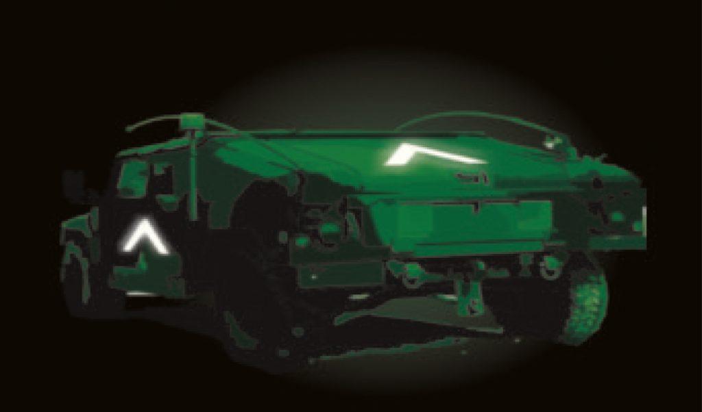 magnetischer infraroter Aufnäher Für Fahrzeuge