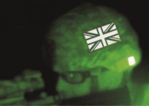 Dual-IR-Aufnäher mit Nachtsichtgeräte
