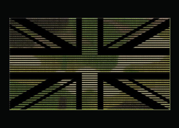 Dual-IR-Aufnäher Identifizierungs-Flaggen