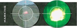 Markierung CyMunition Niedriggeschwindigkeitsmunition mittleren Kalibers 40mm