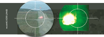Markierung Cyalume 40mm-Übungspatrone Munition